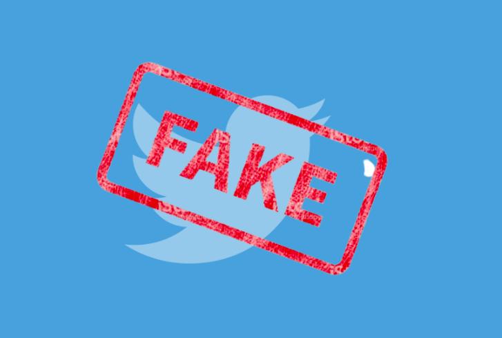 Fake account Twitter check