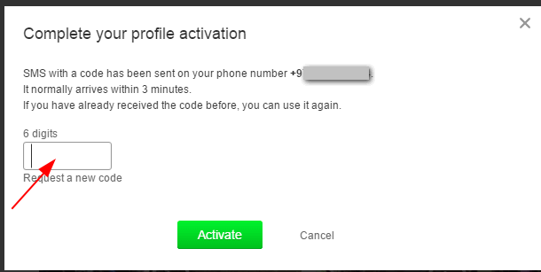 Verify your fake OK account