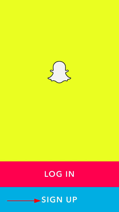 Sign up Snapchat without phone number
