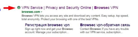 Use Browsec VPN for Telegram unblock
