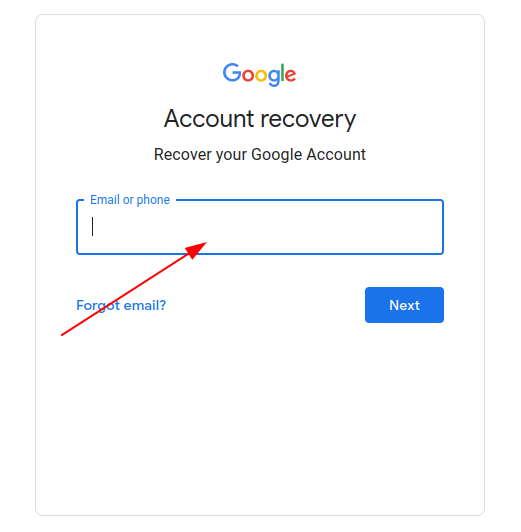 How to recovery Gmail password without phone number