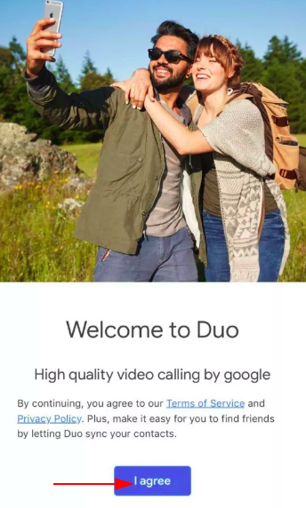 Set up Google Duo without phone number