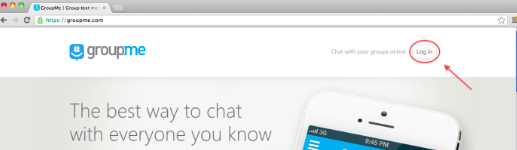 Sign up and use GroupMe without phone number