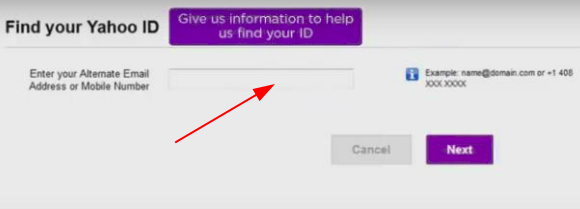 Yahoo mail password recovery without phone number and email - find your ID