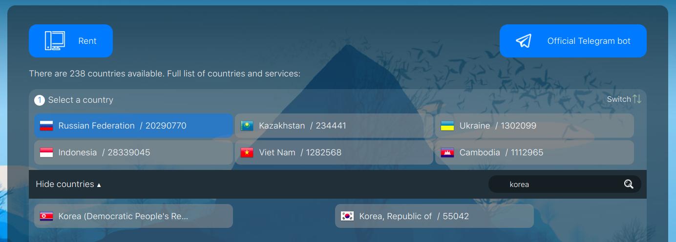 It is very simple to buy a virtual Korean number