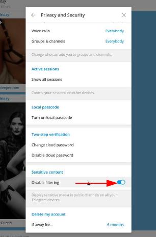 How to open blocked channels in Telegram?