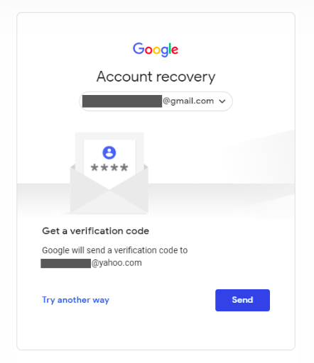 How to recovery Gmail password without phone number via a backup email address