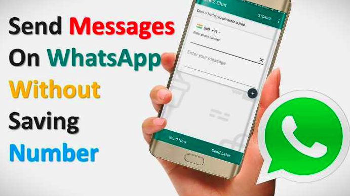 How to message someone on WhatsApp without saving number