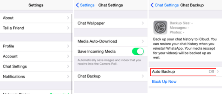 How to check the WhatsApp chat backup on iPhone