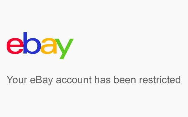 My ebay account got blocked, what should I do?