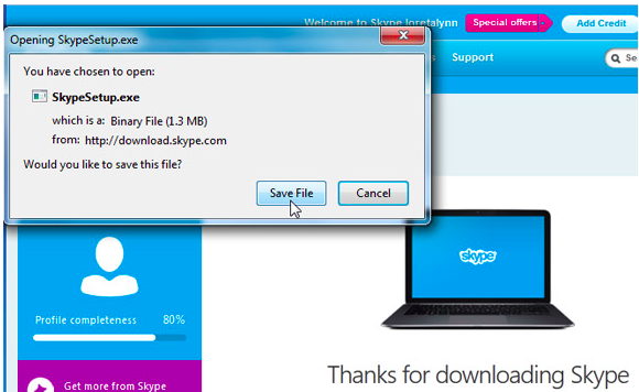 What problems can you face when you decide to install Skype desktop?