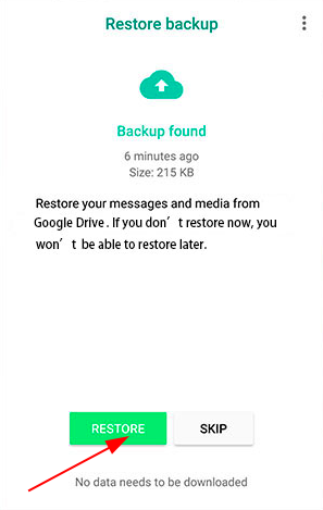 How to retrieve deleted WhatsApp messages on Android?
