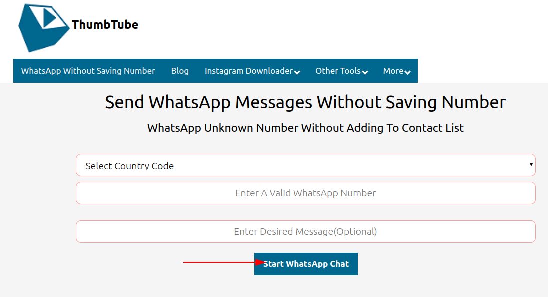 How to WhatsApp without saving number on PC