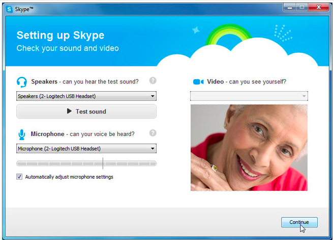 What's next after I install Skype on my computer?