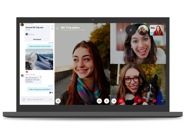 Detailed guidelines on how to install Skype app for PC