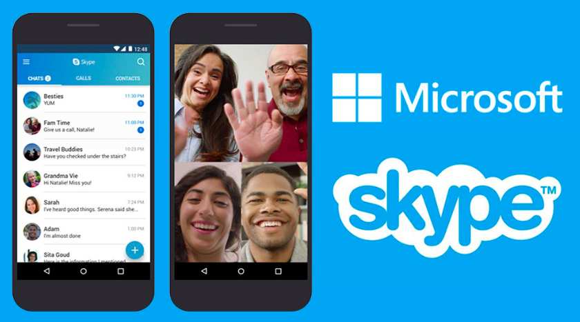 How to install Skype app on my phone?