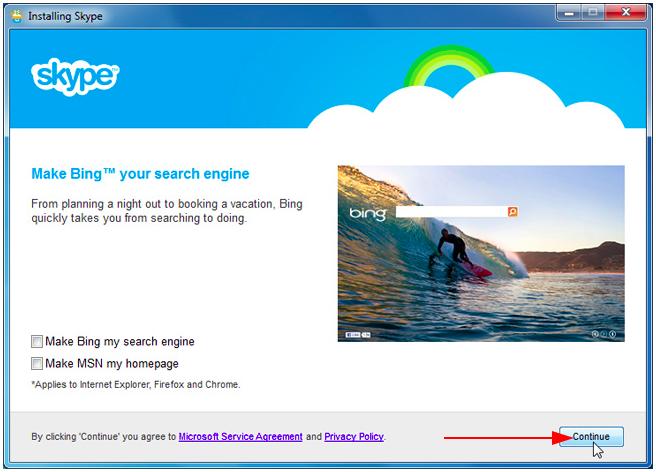 How to install Skype desktop