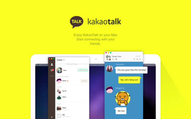 How to make additional profiles to access Kakao on multiple devices?
