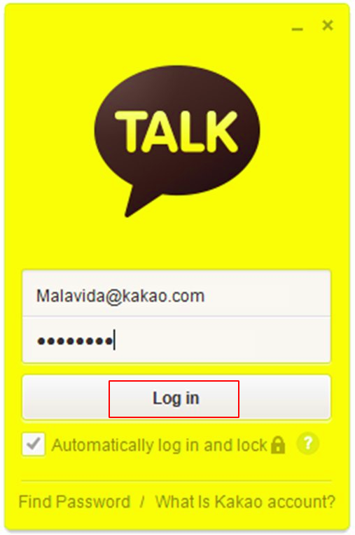 How to use Kakaotalk on multiple devices - log in on your PC