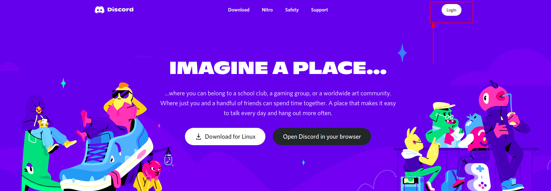 Register your fake Discord ID