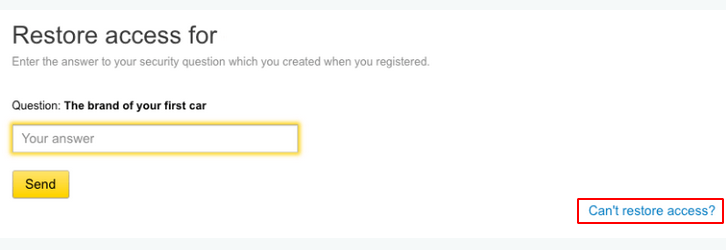 How to recover Yandex account without phone - turn to the support team